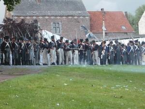 Bild 4 - Erste Kämpfe in Plancenoit