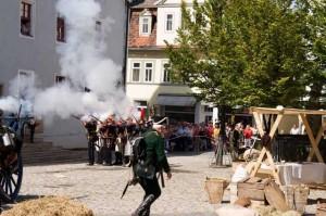 Bild 21 - Die Marine der Garde stürmt das Rathaus