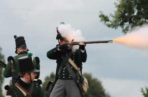 Bild 06 - Lästiges Gewehrfeuer durch die Kings German Legion