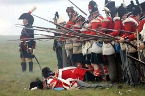 Bild 23 - Die britische Infanterie erleidet grosse Verluste