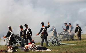 Bild 26 - Aber nun kommt die übermächtige Artillerie des Gegners ins Spiel