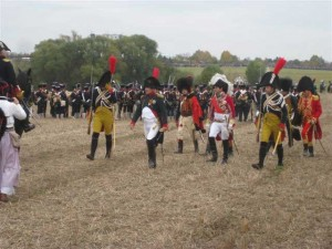 Bild 16 - Der Kaiser ist auf dem Schlachtfeld