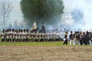 Bild 29 - Aber es ist zu spät. Die Österreicher marschieren auf