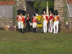 Bild 4 - Auch die sächsische Leibgarde ist anwesend
