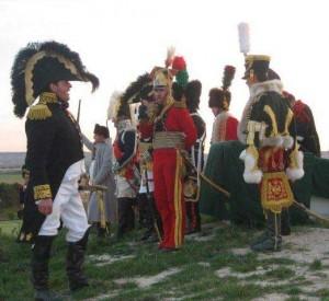 Bild 17 - Der Kaiser gibt den Befehl zum Angriff.