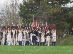 Bild 18 - Unser Bataillion im Anmarsch zum Schlachtfeld von Reims