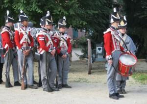 Bild 7- Die Grenadiere des 5. Linienbatallions..