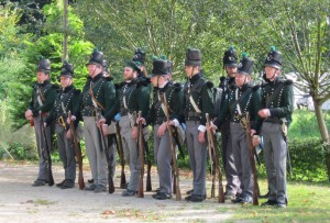 Bild 8 - ..und die Schützen des 2. leichten Batallions der KGL.