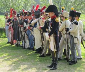 Bild 9 - Die Parade kann beginnen.