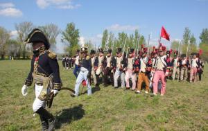 Bild 31 - Die siegreiche Grande Armee marschiert zurück nach Kaja.