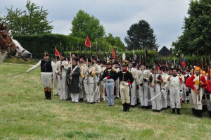 Bild 14 B - Das gesamte Bataillon präsentiert!