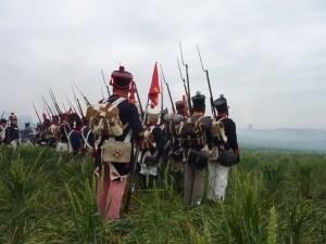 Bild 58 - Für ein letzten Angriff formiert sich unser zusammengeschmolzenes Bataillon.