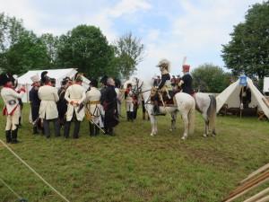 Bild 13a - Auch Marschall Ney und die Österreichische Generalität erscheinen.
