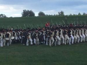 Bild 14 - Unser Bataillon formiert sich zum Gegenangriff.