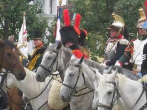 Bild 09A - Auch die Kavallerie ist geröstet.