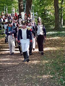 Bild 6 - Anmarsch zum Schlachtfeld