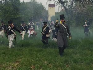 Bild 10 - Die Preussen. Sie brechen durch.