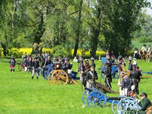 Bild 10 - Und ihre Artillerie ist in Stellung gegangen.