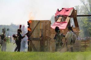Bild 20 - Das Dorf ist genommen und der Feind vertrieben. Vive l´Empereur!
