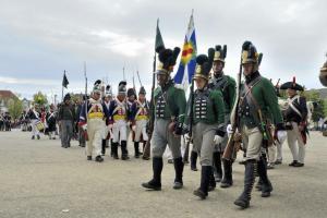 Bild 8 - Abmarsch zur Parade.