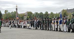 Bild 11 - Angetreten zur Parade