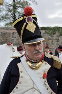 Bild 15 - Unser Kommandeur erteilt Befehle zum Ausrücken aus der Festung.