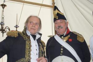 Bild 23 - Die Herren Officiers verstehen zu feiern.