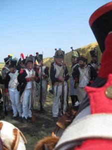 Bild 19 - Die Kameraden von der 4ème warten.