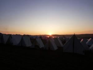 Bild 01 - Am frühen Morgen in der Lagergasse.