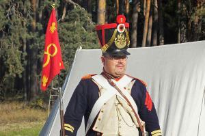 Bild 05 - Der Caporal schaut nach seinen Männern.