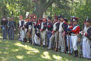 Bild 08 - Beim Denkmal zur Erinnerung an das Gefecht an der Göhrde am 16. September 1813