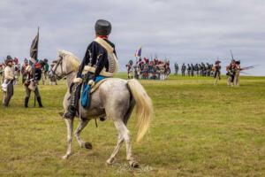 Bild 26 - Erste Aufklärer der feindlichen Kavallerie rücken näher.