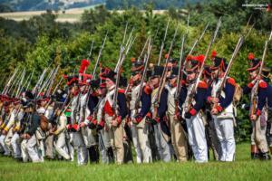Bild 13 - Die sächsiche Infanterie formiert sich ebenfalls.