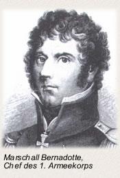 Die Schlacht bei Lübeck Marschall Bernadotte