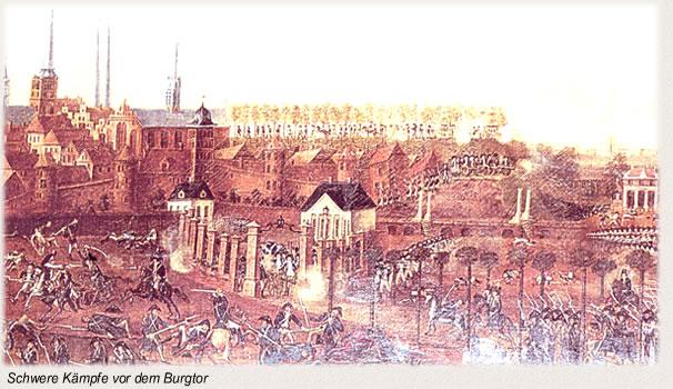Die Schlacht bei Lübeck - Vor dem Burgtor
