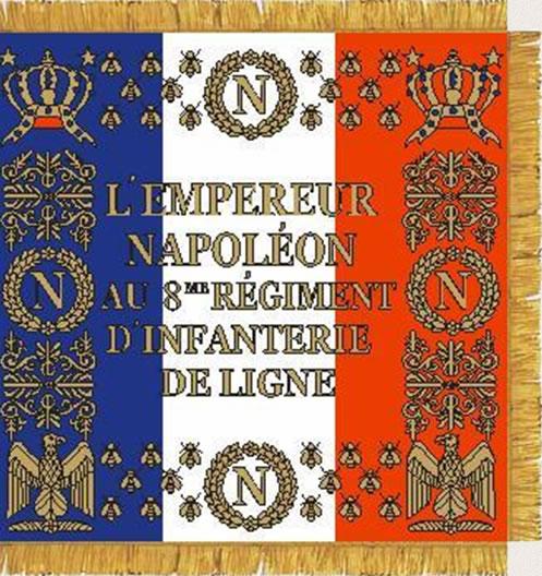 Flagge 8eme