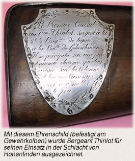 Auszeichnungen Offiziere und Soldaten Ehrenschild