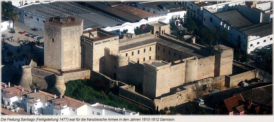 Die Festung Santiago