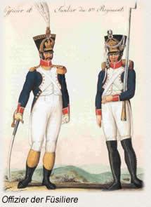 Offiziere der Fuesiliere
