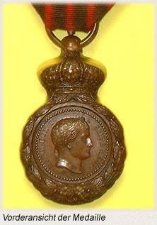 _Sankt-Helena-Medaille Vorderansicht